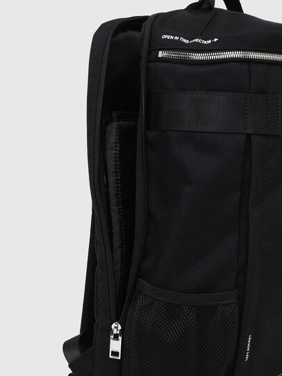 Diesel - PIEVE ZP, Black - Backpacks - Image 5