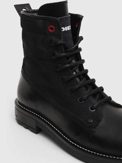 Diesel - D-THROUPER DBB W, Black - Ankle Boots - Image 4