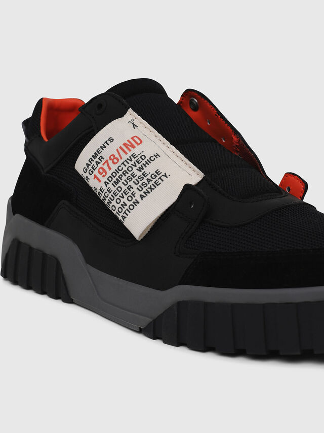 Diesel - S-LE RUA ON, Black - Sneakers - Image 4
