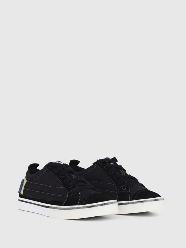 Diesel - D-VELOWS LOW PATCH W, Black - Sneakers - Image 2
