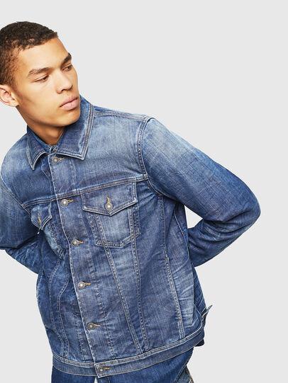 Diesel - NHILL-TW, Blue Jeans - Denim Jackets - Image 6
