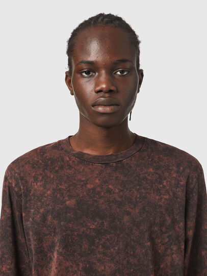 Diesel - T-GLYN, Black/Brown - T-Shirts - Image 3