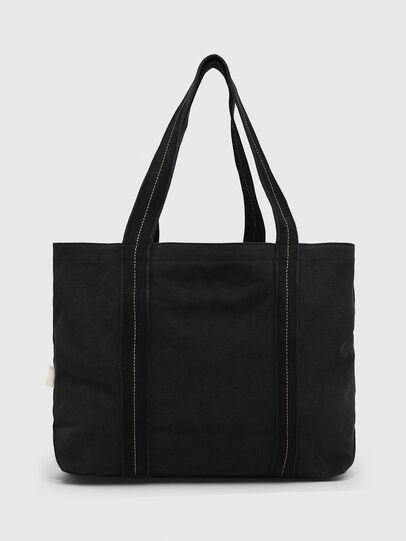 Diesel - D-THISBAG SHOP M, Black - Shopping and Shoulder Bags - Image 2