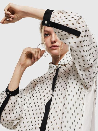Diesel - D-OLYZZ, White/Black - Dresses - Image 4