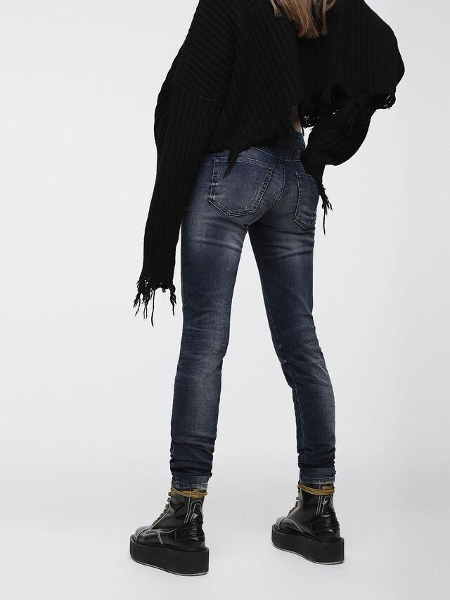 Diesel - Gracey JoggJeans 0686W, Dark Blue - Jeans - Image 2