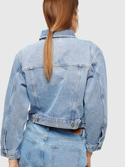 Diesel - DE-CATY, Light Blue - Denim Jackets - Image 2