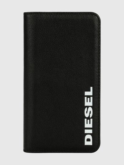 Diesel - DIESEL 2-IN-1 FOLIO CASE FOR IPHONE XR,  - Flip covers - Image 1