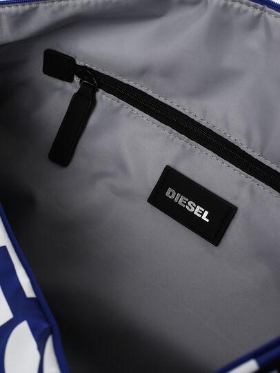 Diesel - BOLD DUFFLE, Black/Blue - Bags - Image 4
