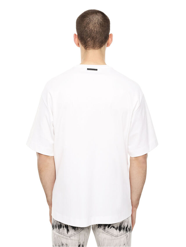 Diesel - TEORIAL-HUNTER, White - T-Shirts - Image 2