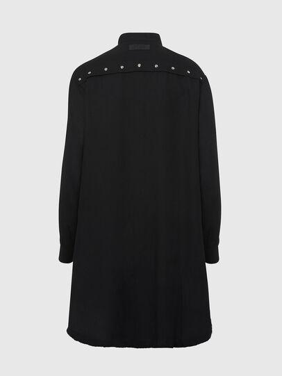 Diesel - D-SUPER-D, Black - Dresses - Image 2