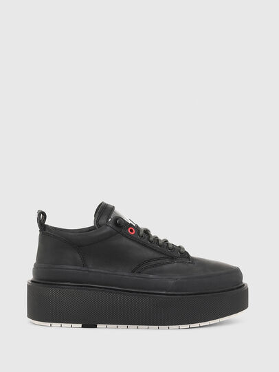 Diesel - H-SCIROCCO LOW LACE, Black - Sneakers - Image 1