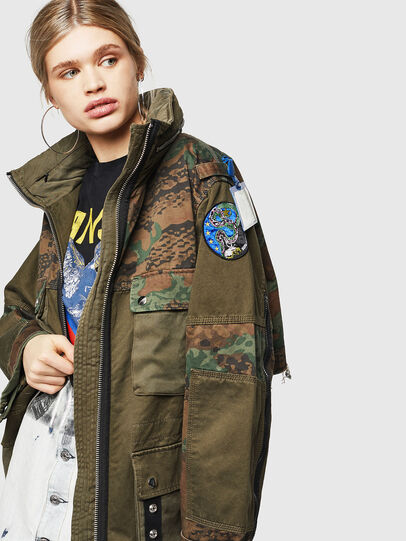 Diesel - G-LEE-C, Military Green - Jackets - Image 4