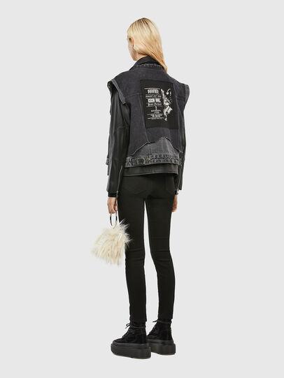 Diesel - L-KELLY, Black - Leather jackets - Image 7