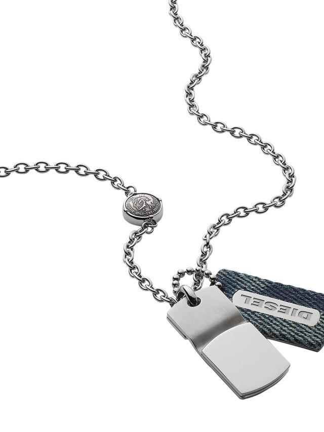 NECKLACE DX0980, Blue Jeans