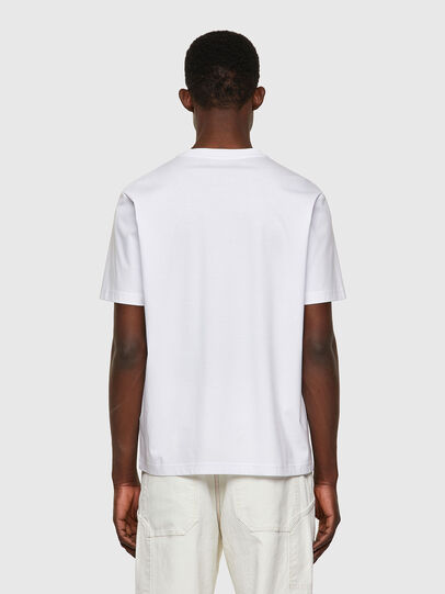 Diesel - T-JUST-WORKY, White - T-Shirts - Image 2