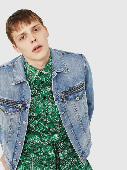 Diesel - D-ROY,  - Denim Jackets - Image 5