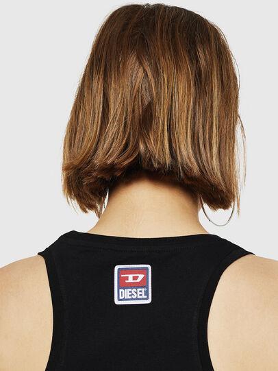 Diesel - T-SILK-A, Black - Tops - Image 3