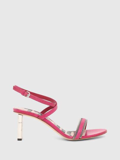 Diesel - SA-LEZIPPO PL, Pink - Sandals - Image 1