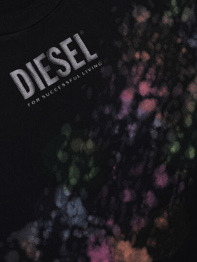 Diesel - TJUSTA40 OVER, Black - T-shirts and Tops - Image 3