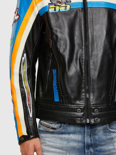 Diesel - ASTARS-LPATCH-1A-B,  - Leather jackets - Image 3