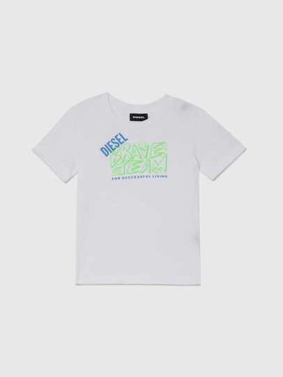 Diesel - TESSOB-R, White - T-shirts and Tops - Image 1