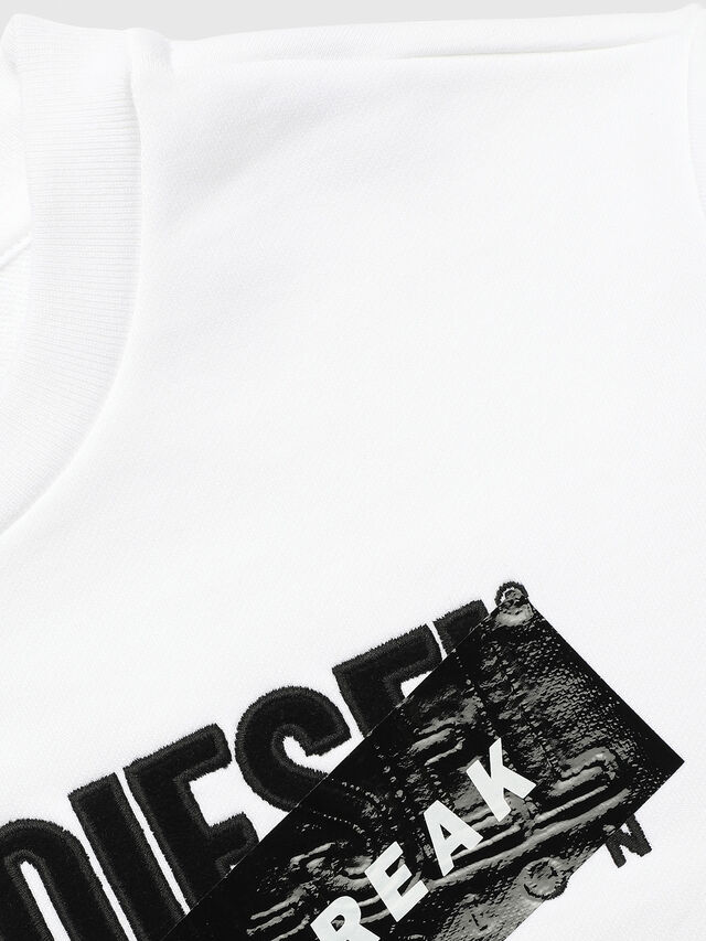 Diesel - UN-K-SCREWDIVISION-A, White - Sweaters - Image 3