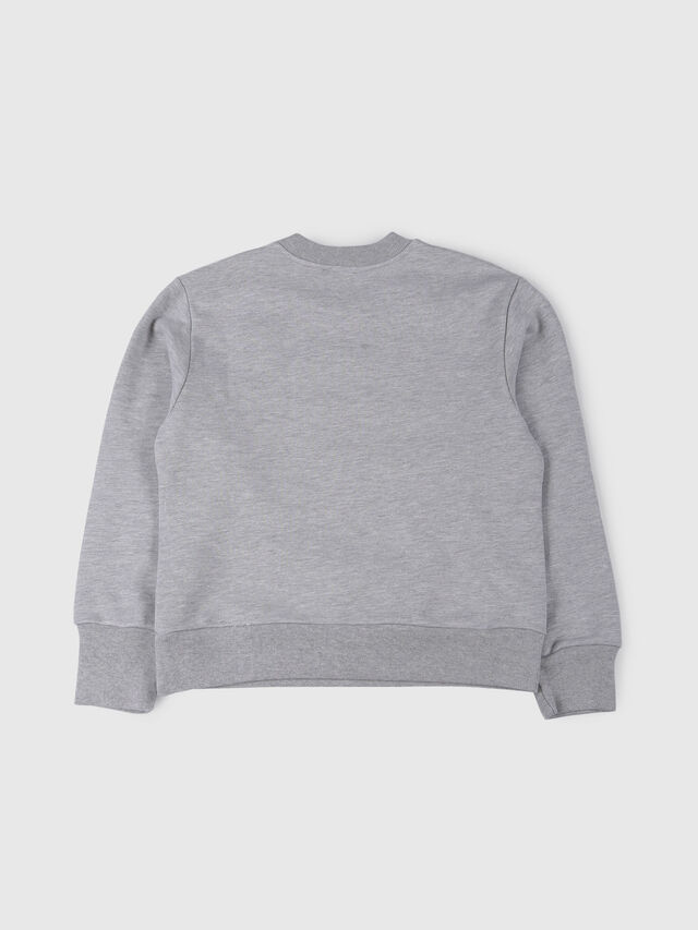 Diesel - SCREWDIVISION OVER, Grey - Sweaters - Image 2