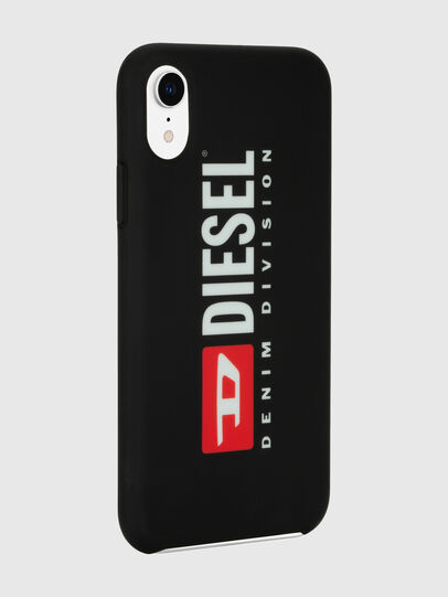 Diesel - DIESEL PRINTED CO-MOLD CASE FOR IPHONE XR, Black/White - Cases - Image 6