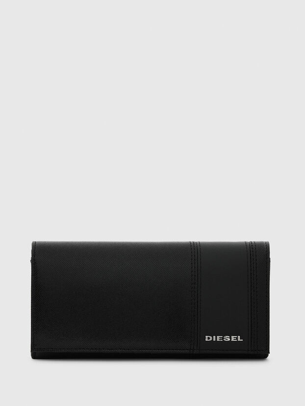 24 A DAY, Black - Continental Wallets