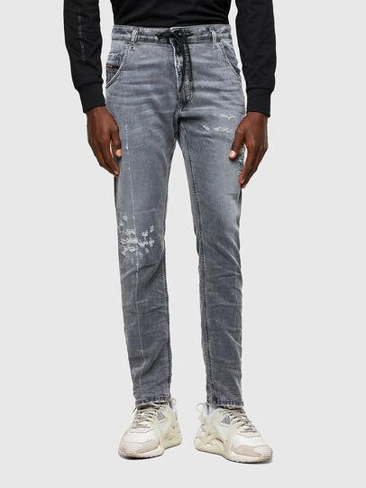 Diesel - Krooley JoggJeans® 069SN, Light Grey - Jeans - Image 1