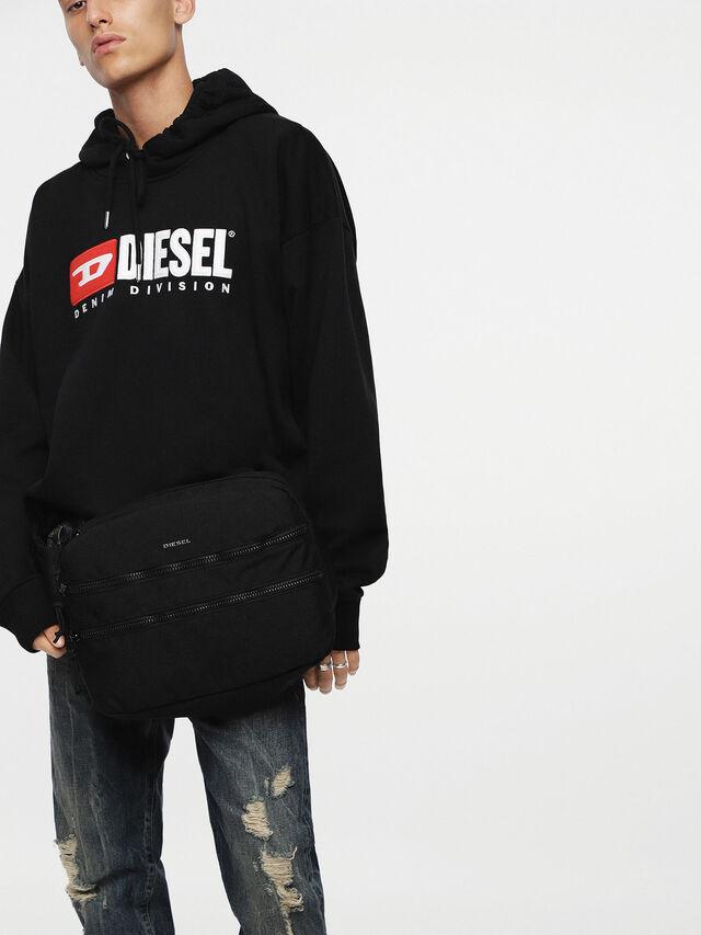 Diesel - F-URBHANITY CROSSBOD, Black - Backpacks - Image 4
