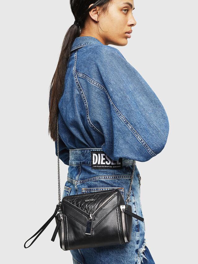 Diesel LE-BHONNY, Black - Crossbody Bags - Image 6