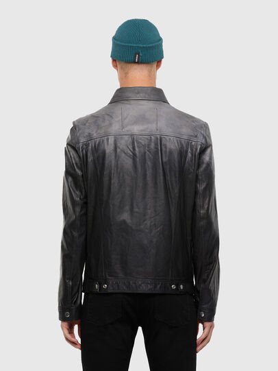 Diesel - L-NHILL-TRE,  - Leather jackets - Image 2
