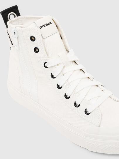 Diesel - S-ASTICO MID ZIP W, White - Sneakers - Image 4