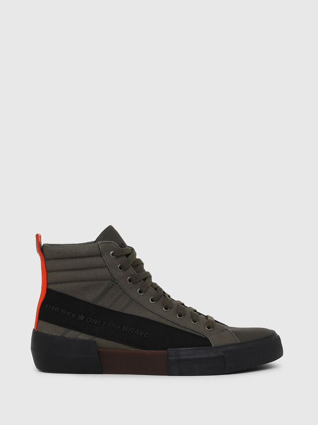 Diesel - S-DESE MC, Green/Black - Sneakers - Image 1