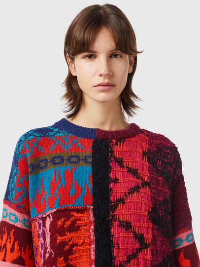 Diesel - M-VIVYAN, Red/Pink - Knitwear - Image 3