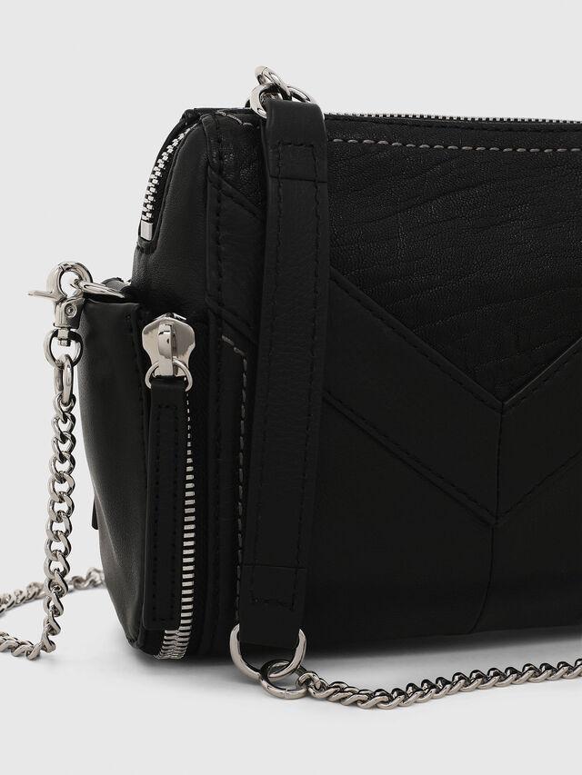 Diesel LE-BHONNY, Black - Crossbody Bags - Image 5