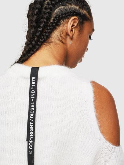 Diesel - M-LARA, White - Knitwear - Image 5