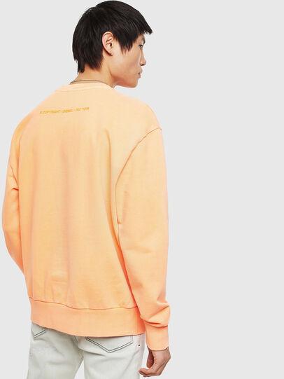 Diesel - S-BIAY-FLUO, Orange - Sweaters - Image 3