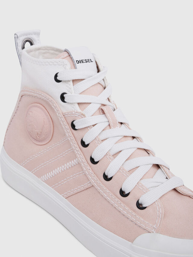 Diesel - S-ASTICO MID LACE W, Pink/White - Sneakers - Image 4