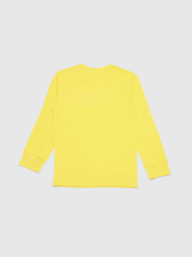 Diesel - TJUSTDIVISION ML, Yellow - T-shirts and Tops - Image 2