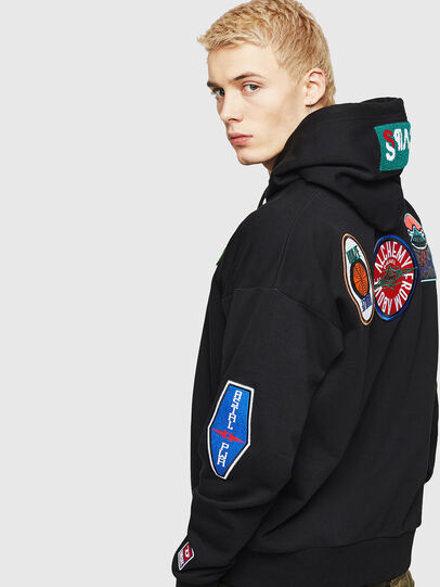 Diesel - S-ALBY-PATCHES, Black - Sweaters - Image 5