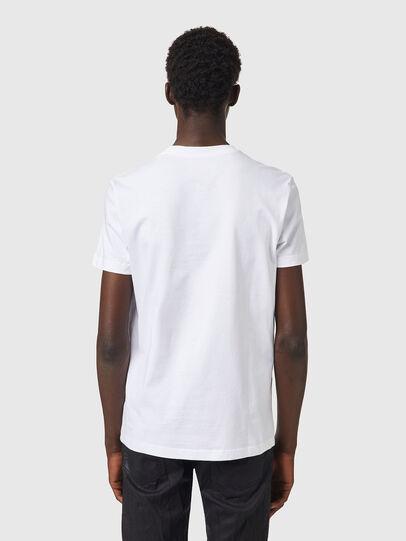Diesel - T-DIEGOS-B82, White - T-Shirts - Image 2