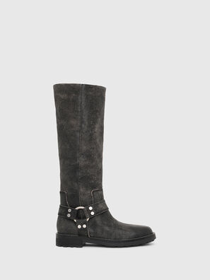 D-THROUPER MB W, Black - Boots