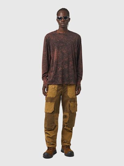 Diesel - T-GLYN, Black/Brown - T-Shirts - Image 4