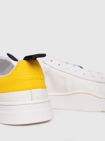 Diesel - S-CLEVER LOW, White/Yellow - Sneakers - Image 4