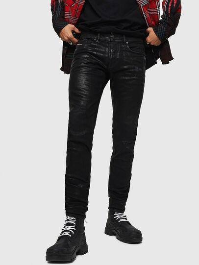Diesel - Sleenker 0091F, Black/Dark grey - Jeans - Image 1