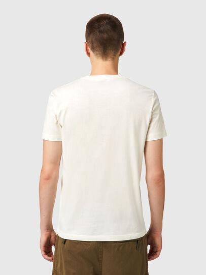 Diesel - T-DIEGOS-B10, White - T-Shirts - Image 2