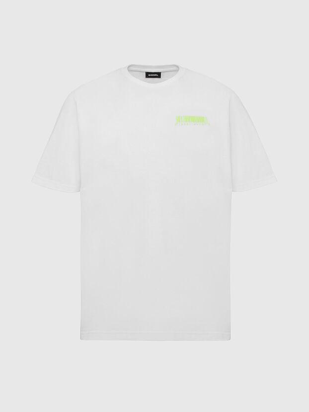 T-JUST-SLITS-X84, White - T-Shirts