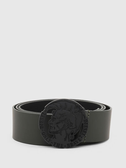 Diesel - B-TARZO, Dark Green - Belts - Image 1